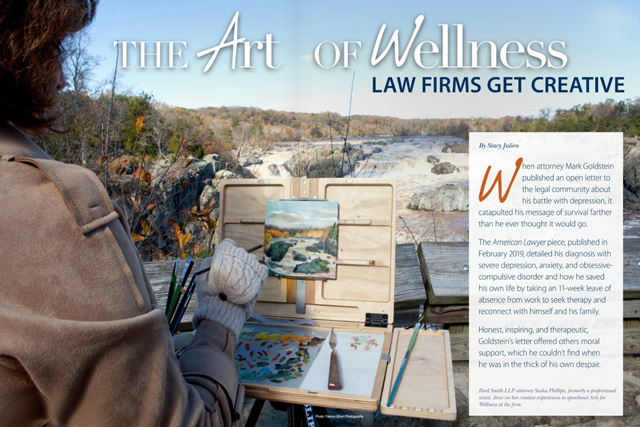 The Art of Wellness: Law Firms Get Creative