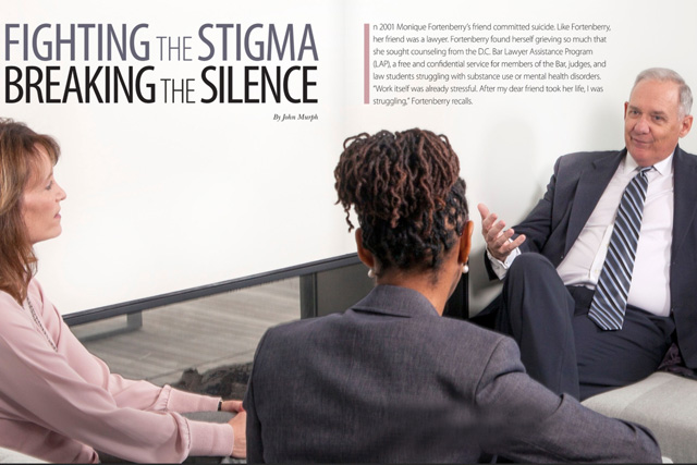 Fighting the Stigma: Breaking the Silence