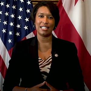D.C. Mayor Muriel Bowser