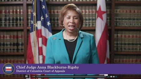 D.C. Court of Appeals Chief Judge Anna Blackburne-Rigsby